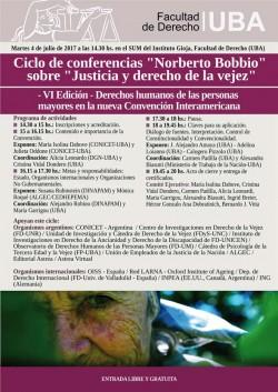 Derechos humanos de las personas mayores en la nueva Convención Interamericana