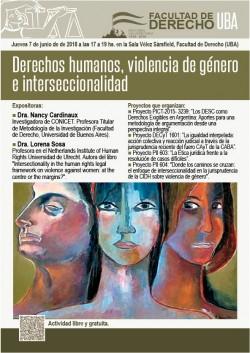 Derechos humanos, violencia de género e interseccionalidad