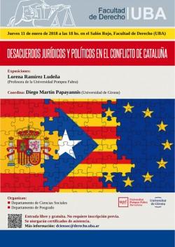 Desacuerdos jurídicos y políticos en el conflicto de Cataluña