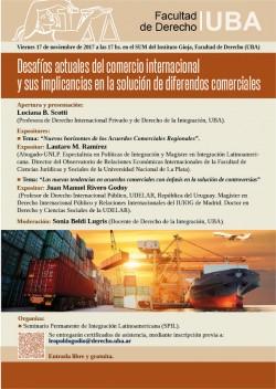 Desafíos actuales del comercio internacional y sus implicancias en la solución de diferendos comerciales