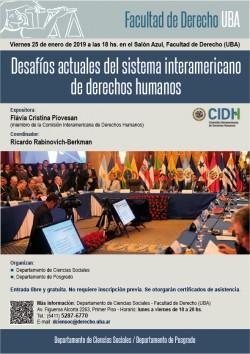 Desafíos actuales del sistema interamericano de derechos humanos
