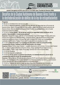 Desafíos de la Ciudad Autónoma de Buenos Aires frente a la desfederalización de delitos de la ley de estupefacientes
