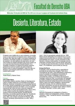 Desierto, Literatura, Estado