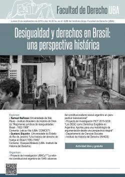 Desigualdad y derechos en Brasil: una perspectiva histórica