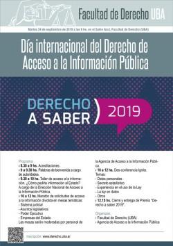 Día internacional del Derecho de Acceso a la Información Pública