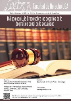 Diálogo con Luis Greco sobre los desafíos de la dogmática penal en la actualidad