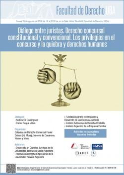 Diálogo entre juristas. Derecho concursal constitucional y convencional. Los privilegios en el concurso y la quiebra y derechos humanos