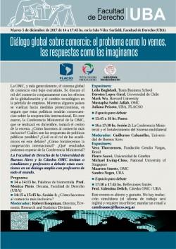 Diálogo global sobre comercio:  el problema como lo vemos, las respuestas como las imaginamos