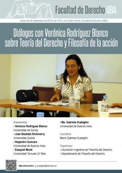 Diálogos con Verónica Rodríguez Blanco sobre Teoría del Derecho y Filosofía de la acción