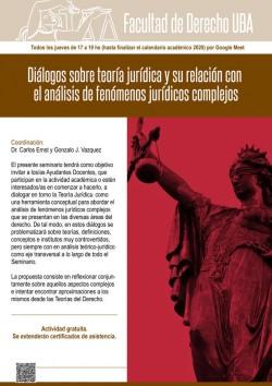 Diálogos sobre teoría jurídica y su relación con el análisis de fenómenos jurídicos complejos