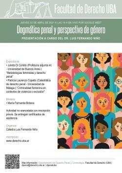 Dogmática penal y perspectiva de género