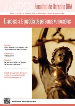 El acceso a la justicia de personas vulnerables