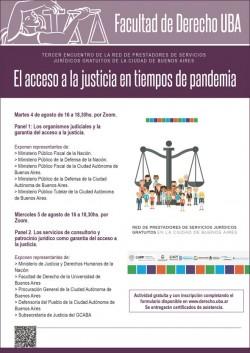El acceso a la justicia en tiempos de pandemia