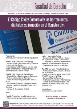 El Código Civil y Comercial y las herramientas digitales: su irrupción en el Registro Civil