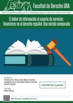 El deber de información al usuario de servicios financieros en el derecho español. Una mirada comparada