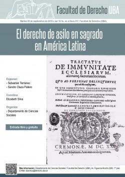 El derecho de asilo en sagrado en América Latina