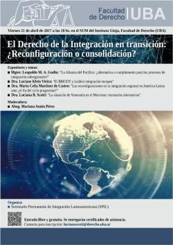 El Derecho de la Integración en transición: ¿Reconfiguración o consolidación?