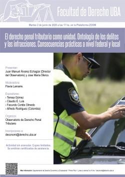 El derecho penal tributario como unidad. Ontología de los delitos y las infracciones. Consecuencias prácticas a nivel federal y local