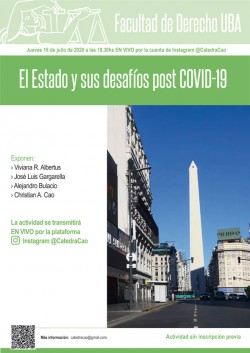 El Estado y sus desafíos post COVID-19.