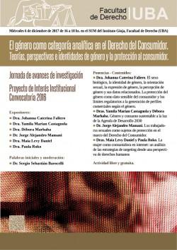El género como categoría analítica en el Derecho del Consumidor. Teorías, perspectivas e identidades de género y la protección al consumidor