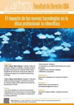El impacto de las nuevas tecnologías en la ética profesional: la ciberética