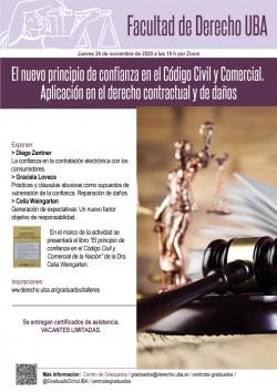 El nuevo principio de confianza en el Código Civil y Comercial. Aplicación en el derecho contractual y de daños