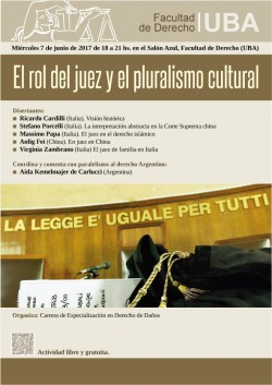 El rol del juez y el pluralismo cultural