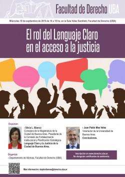 El rol del Lenguaje Claro en el acceso a la justicia