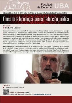 El uso de la tecnología para la traducción jurídica