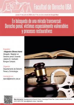 En búsqueda de una mirada transversal: Derecho penal, víctimas especialmente vulnerables y procesos restaurativos
