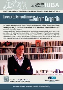Encuentro de Derechos Humanos con Roberto Gargarella