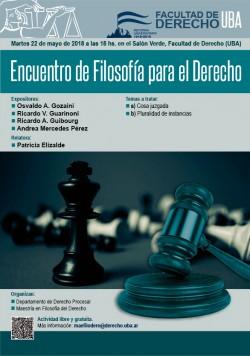 Encuentro de Filosofía para el Derecho