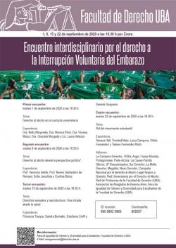 Encuentro Interdisciplinario por el derecho a la Interrupción Voluntaria del Embarazo