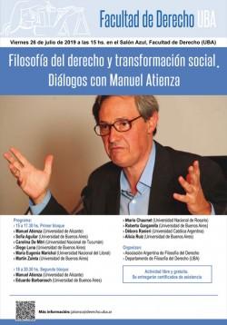 Filosofía del derecho y transformación social. Diálogos con Manuel Atienza