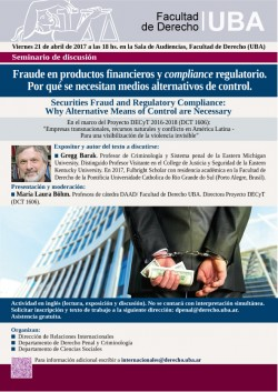 Fraude en productos financieros y compliance regulatorio: ¿Por qué se necesitan medios alternativos de control?