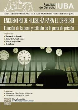 Función de la pena y Cálculo de la pena de prisión