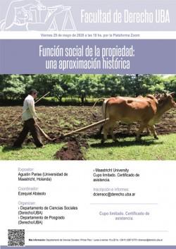 Función social de la propiedad: una aproximación histórica