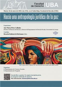 Hacia una antropología jurídica de la paz