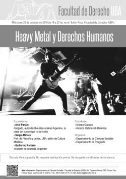 Heavy Metal y Derechos Humanos