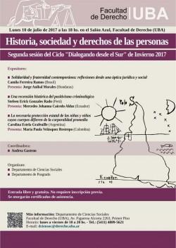 Historia, sociedad y derechos de las personas