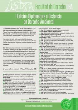 I Edición Diplomatura a Distancia en Derecho Ambiental