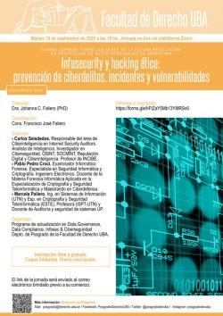 <i>Infosecurity</i> y <i>hacking</i> ético: prevención de ciberdelitos, incidentes y vulnerabilidades
