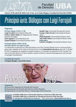 <i>Principia iuris</i>. Diálogos con Luigi Ferrajoli&#187;></p> <p style=