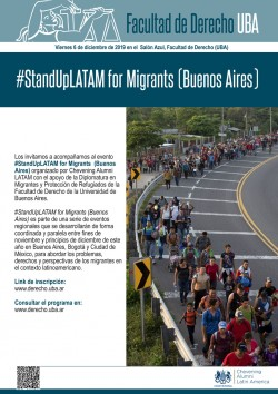 <i>#StandUpLATAM for Migrants </i>(Buenos Aires)