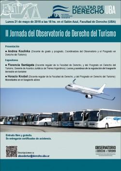 II Jornada del Observatorio de Derecho del Turismo