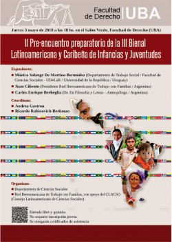 II Pre-encuentro preparatorio de la III Bienal Latinoamericana y Caribeña de Infancias y Juventudes
