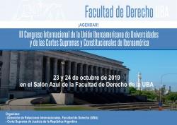 III Congreso Internacional de la Unión Iberoamericana de Universidades y de las Cortes Supremas y Constitucionales de Iberoamérica