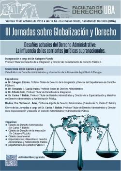 III Jornadas sobre Globalización y Derecho