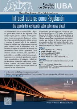 Infraestructuras como Regulación: Una agenda de investigación sobre gobernanza global
