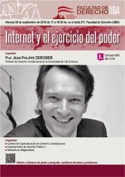 Internet y el ejercicio del poder